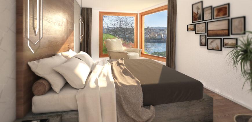 4-½ Zimmer | Gartenwohnung in der Villa Zentaur – das Juwel am Rhein